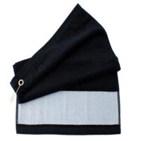 Golf Towel - Black