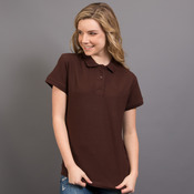 Ladies Combed Cotton Polo